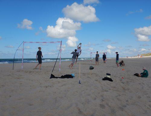 Beachhandball im Jugendseeheim Sylt