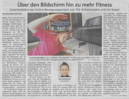 HNA Artikel zu GetUp | StandUp | MoveUp